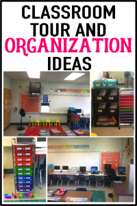 Read about how I set up and organized my classroom for the first day of school.