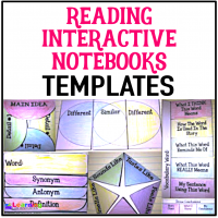 Engage students in their reading with these reading interactive notebooks. You can use them with ANY book!