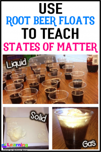 Are your students tired of only reading about matter? Let them experience a solid, liquid, and gas by creating root beer floats!