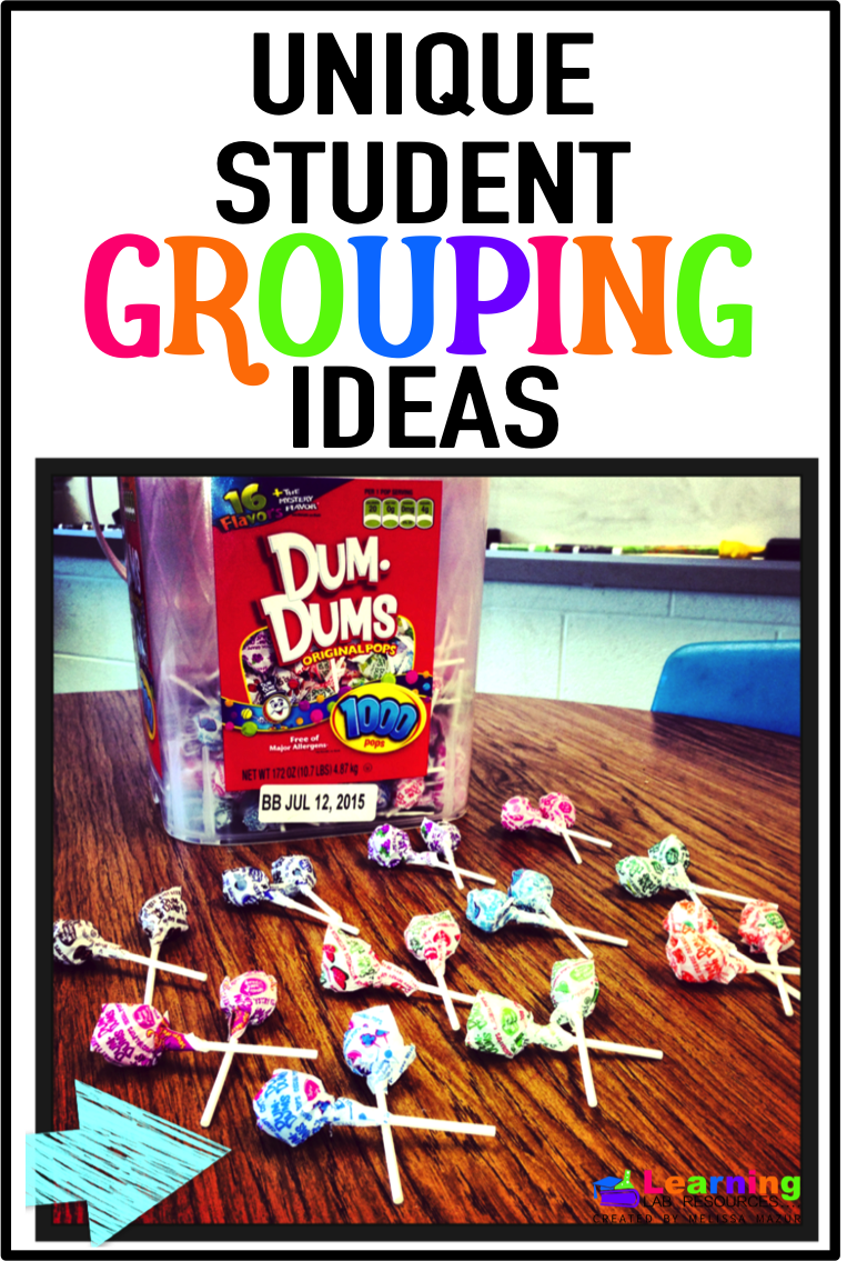 Need fresh new ways to put students into groups?  Read about these ideas that students will love!