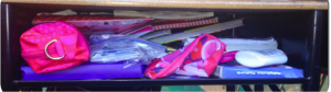 Get tips on how to help your students organize their messy desks.