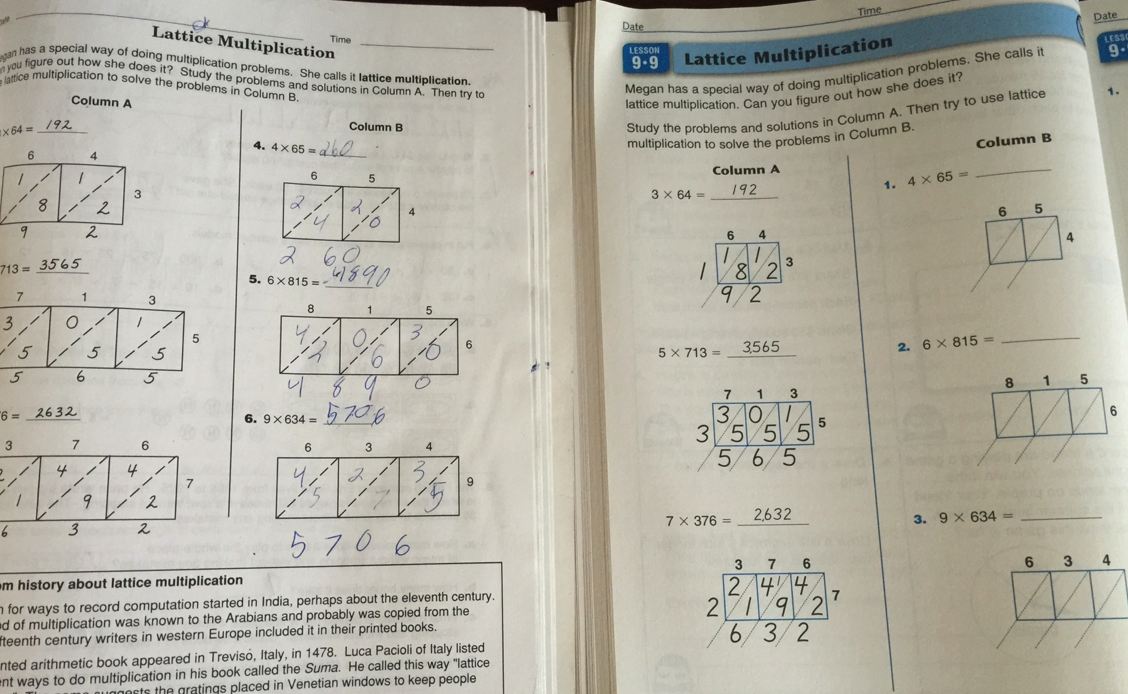 """How new is """"New Math""""? The difference between math strategies and the Common Core."""